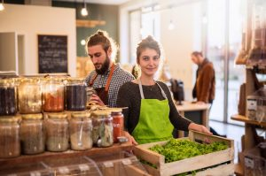 Green grocer small business